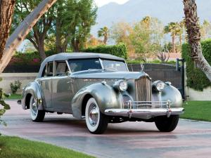 1940 Packard 180 Super Eight Convertible Sedan by Darrin